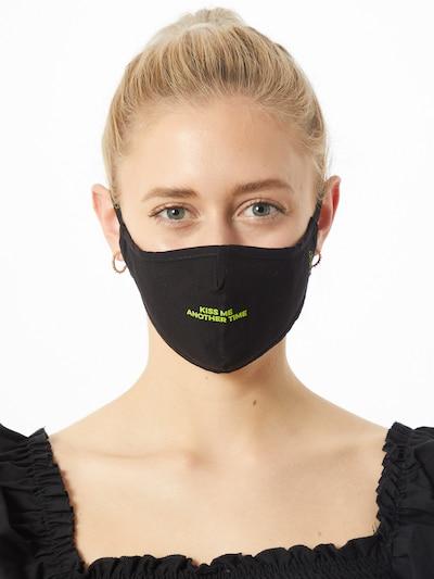 ABOUT YOU Maska z materiału '3er Pack Lena' w kolorze czarnym: Widok z przodu