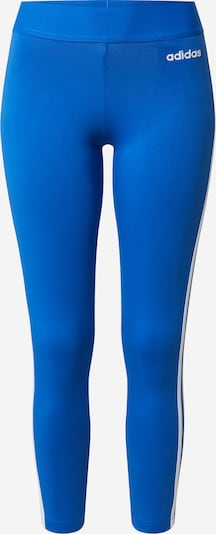 ADIDAS PERFORMANCE Pantalon de sport en bleu roi / blanc, Vue avec produit