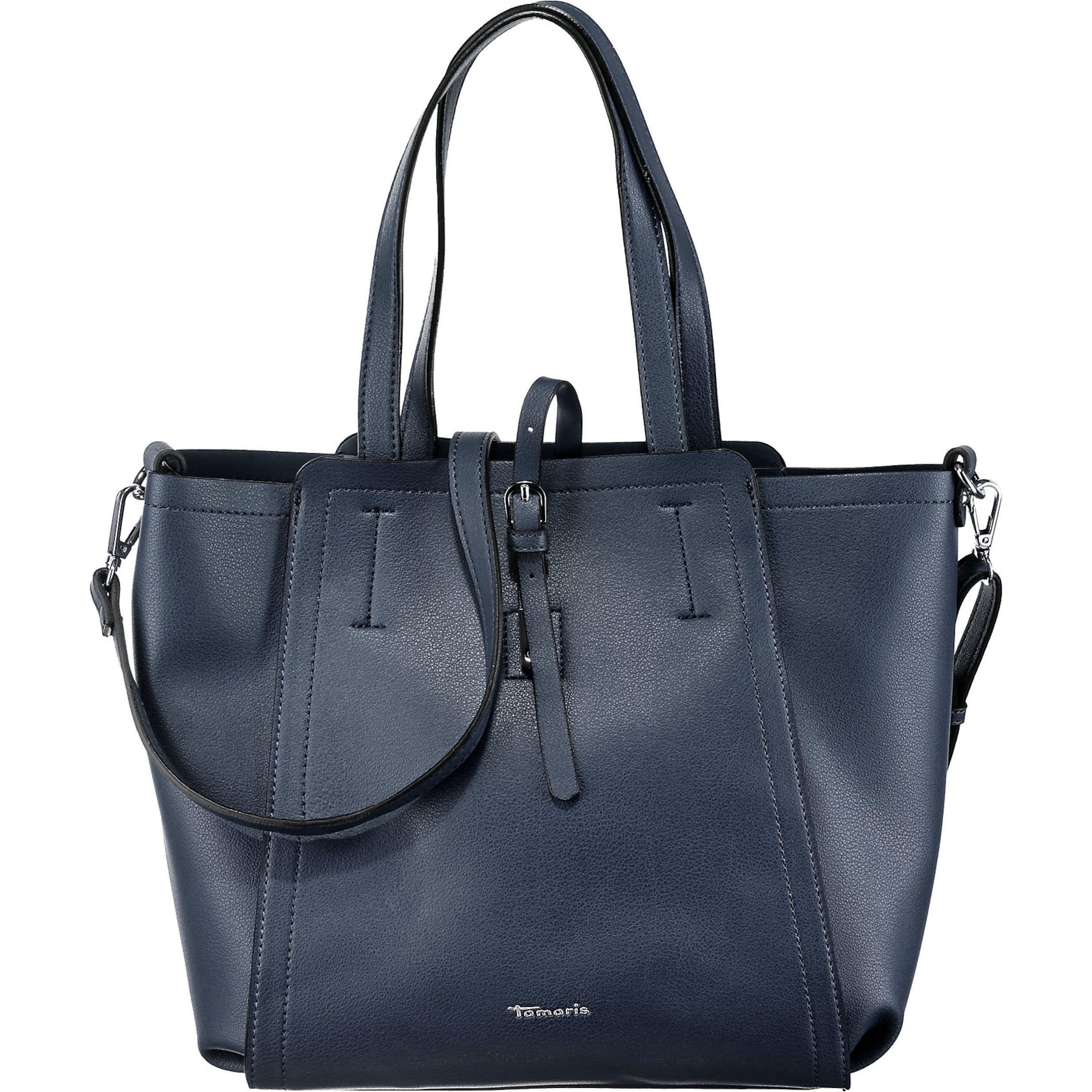 TAMARIS Shoppingväska 'Bruna' i marinblå
