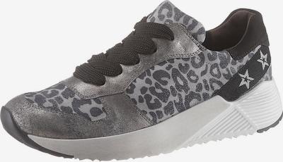 Paul Green Sneaker in dunkelbraun / grau / silber, Produktansicht