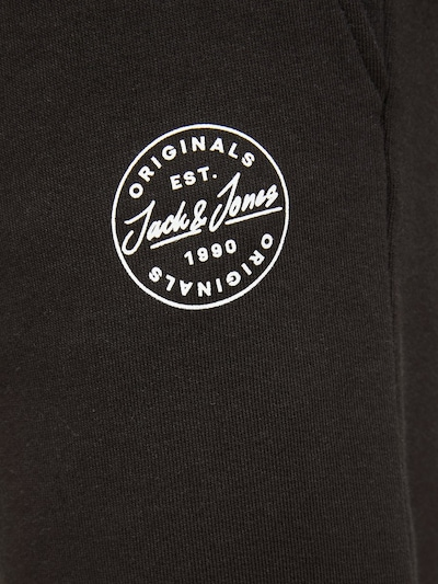 JACK & JONES Sweathose 'Gordon ' in schwarz: Frontalansicht