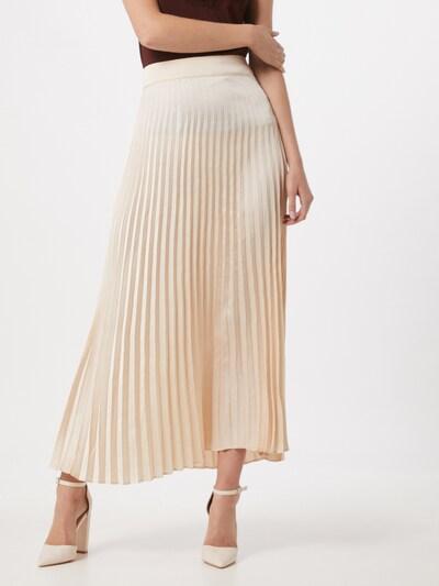 Rut & Circle Spódnica 'Bianca' w kolorze beżowy / jasny beżm, Podgląd na modelu(-ce)
