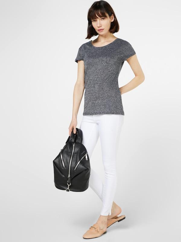 VILA Shirt mit Glitzereffekt