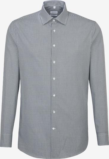 SEIDENSTICKER Hemd in kobaltblau / weiß, Produktansicht