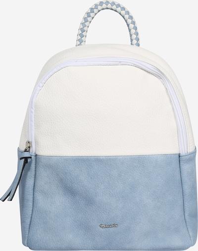 TAMARIS Rugzak 'Annelie' in de kleur Smoky blue / Wit, Productweergave