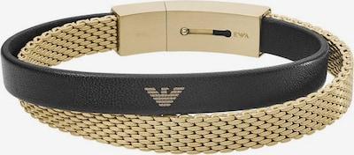 Emporio Armani Armband 'Essential' in goldgelb / schwarz, Produktansicht