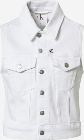 Calvin Klein Jeans Gilet en blanc, Vue avec produit
