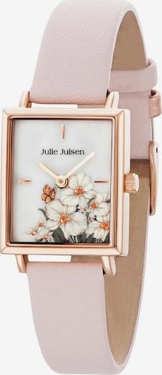 Julie Julsen Uhr in gold / rosa / weiß, Produktansicht