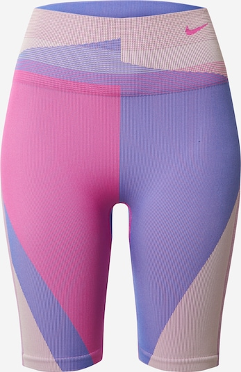Pantaloni sport NIKE pe mov / roz, Vizualizare produs