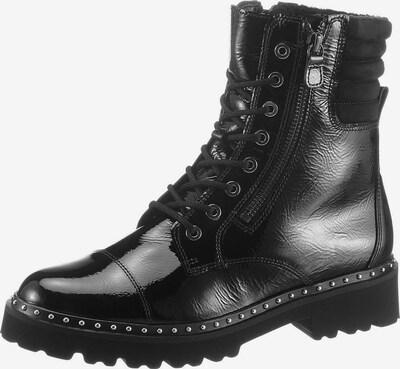 GABOR Schnürstiefelette in schwarz, Produktansicht