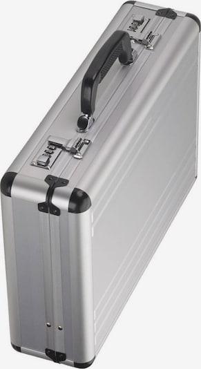 Dermata Aktenkoffer in de kleur Zilver, Productweergave