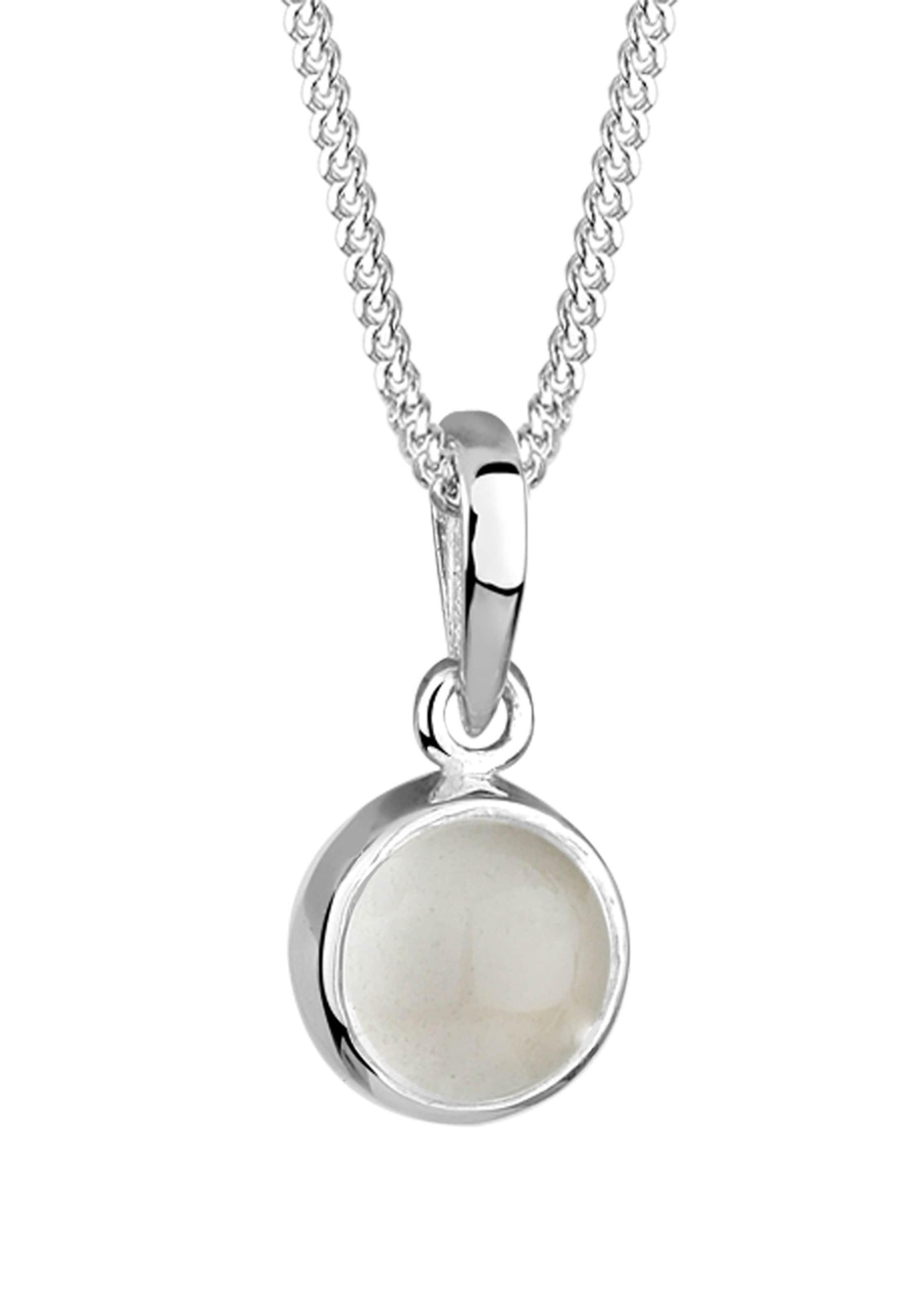 'kreis' In Halskette Elli Silber Elli nN0wyvm8O