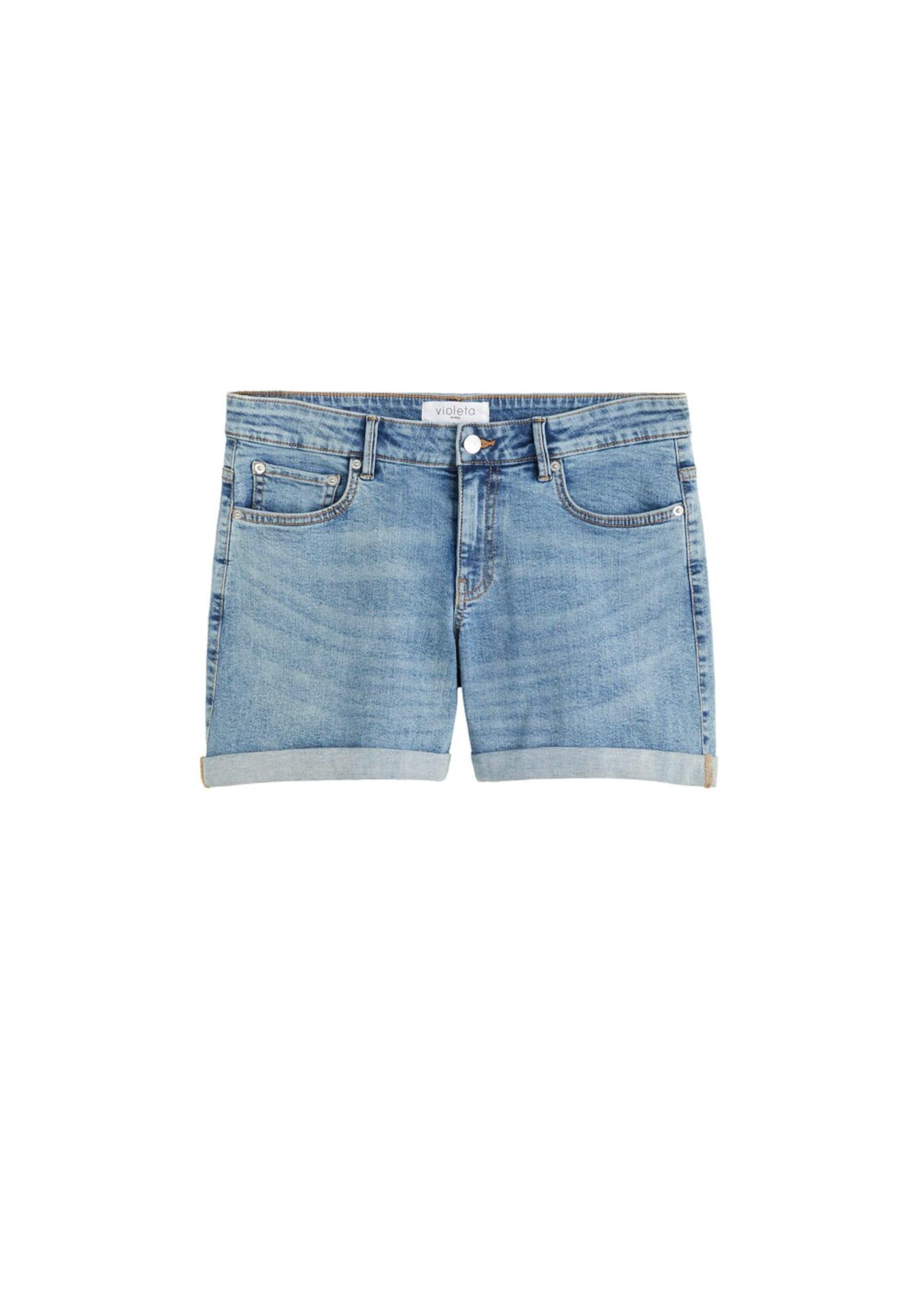 By 'vicky' Violeta Shorts Denim In Mango Blue sdhrCtQ