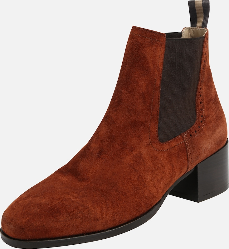 En O'polo RouilleNoir Bottines Marc Rouge knPX0wNO8