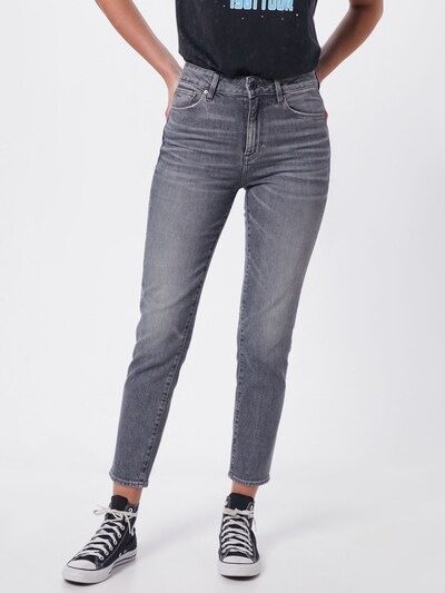 szürke G-Star RAW Farmer '3301 High Straight 90's Ankle Wmn', Modell nézet