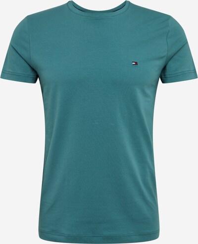 TOMMY HILFIGER Shirt 'STRETCH SLIM FIT TEE' in himmelblau, Produktansicht