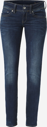 G-Star RAW Jeans 'Midge Saddle Mid Straight' in de kleur Blauw, Productweergave