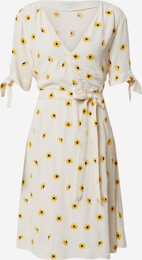 Fabienne Chapot Zomerjurk 'Emily' in de kleur Geel / Wit, Productweergave