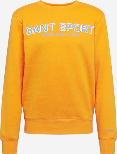 GANT Sweatshirt in hellblau / orange / weiß, Produktansicht