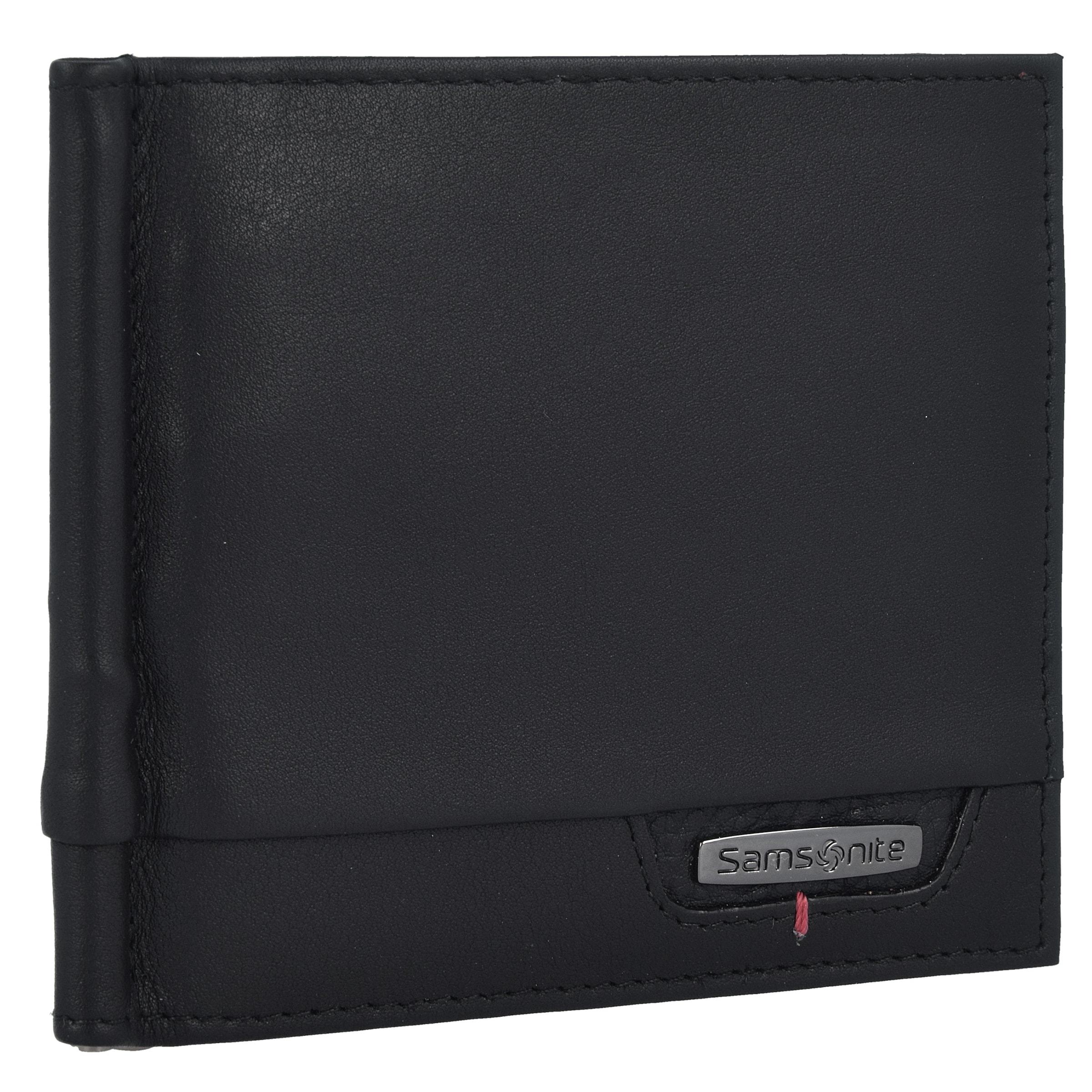 Leder SLG Geldb枚rse DLX cm 11 5 Pro SAMSONITE RFID twxXERnq