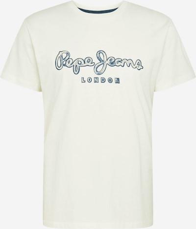 Pepe Jeans Shirt 'Merton' in navy / weißmeliert, Produktansicht