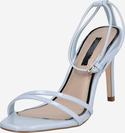 Miss Selfridge Páskové sandály 'Skinny Strap Heels' - světlemodrá, Produkt