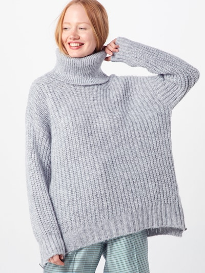 Herrlicher Pull-over 'Anika' en gris clair, Vue avec modèle