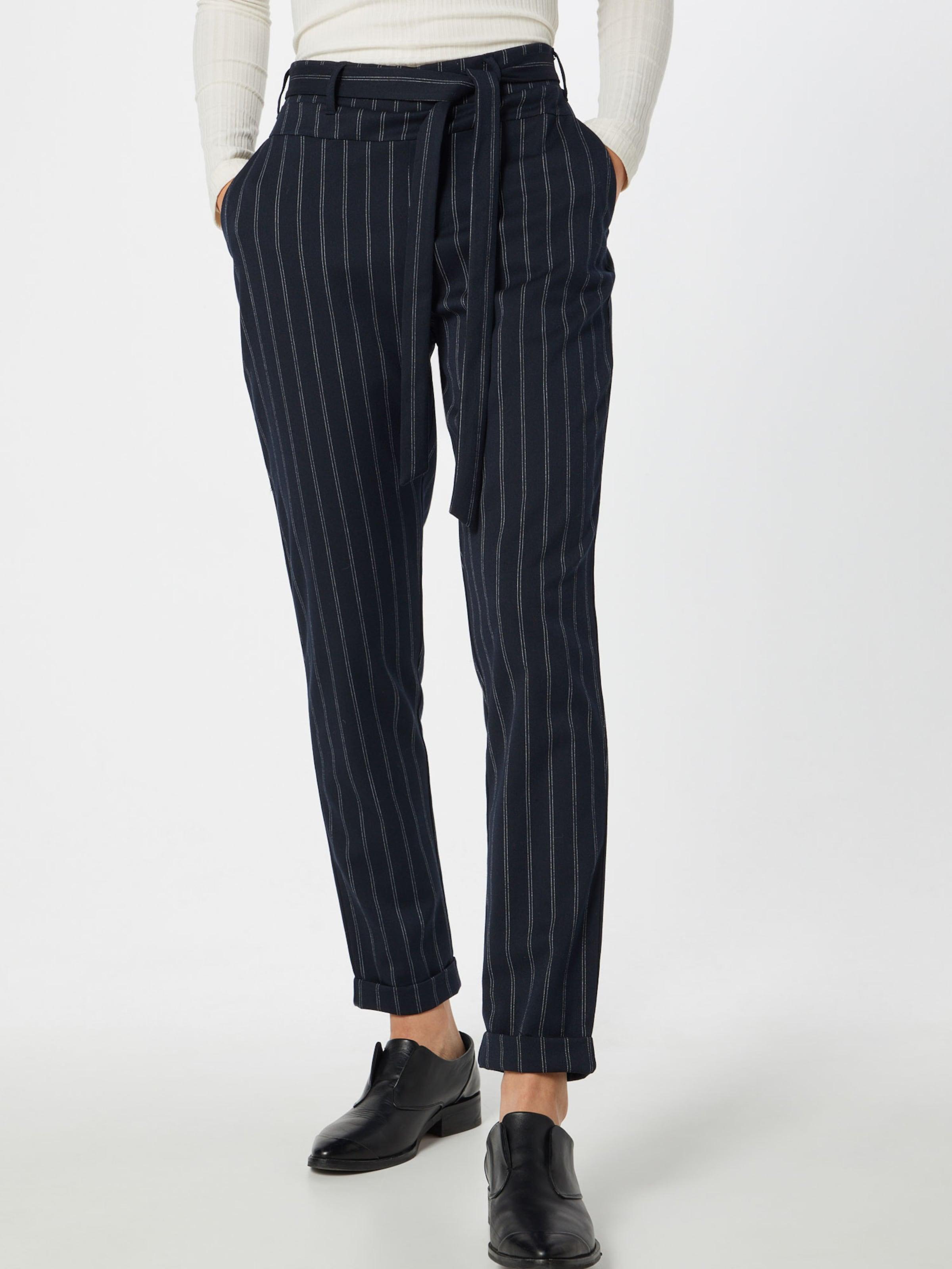 Pants' 'ulla Pantalon Marine En Kaffe Belt uF3Tcl1KJ