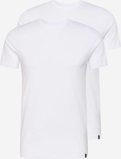 INDICODE JEANS Shirt 'Aars' in de kleur Wit, Productweergave