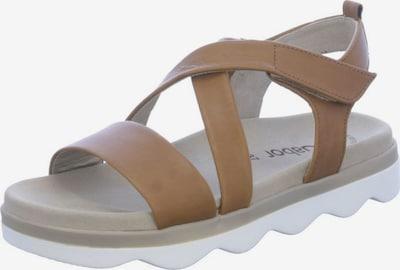 GABOR Sandalen in hellbraun, Produktansicht