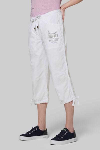 Soccx Bermuda in weiß, Modelansicht