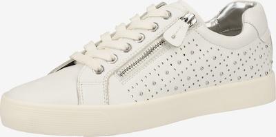 CAPRICE Sneaker in weiß: Frontalansicht