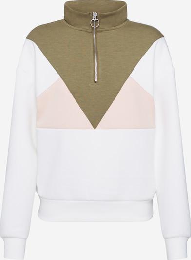 ONLY Sweatshirt 'ONLMIMMI' in grün / rosa / weiß, Produktansicht