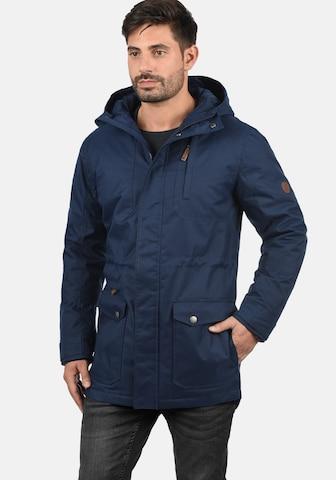 !Solid Winterjacke 'Bello Long' in Blau