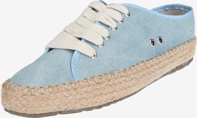 EMU AUSTRALIA Espadrilles 'AGONIS' in beige / blue denim / hellblau, Produktansicht