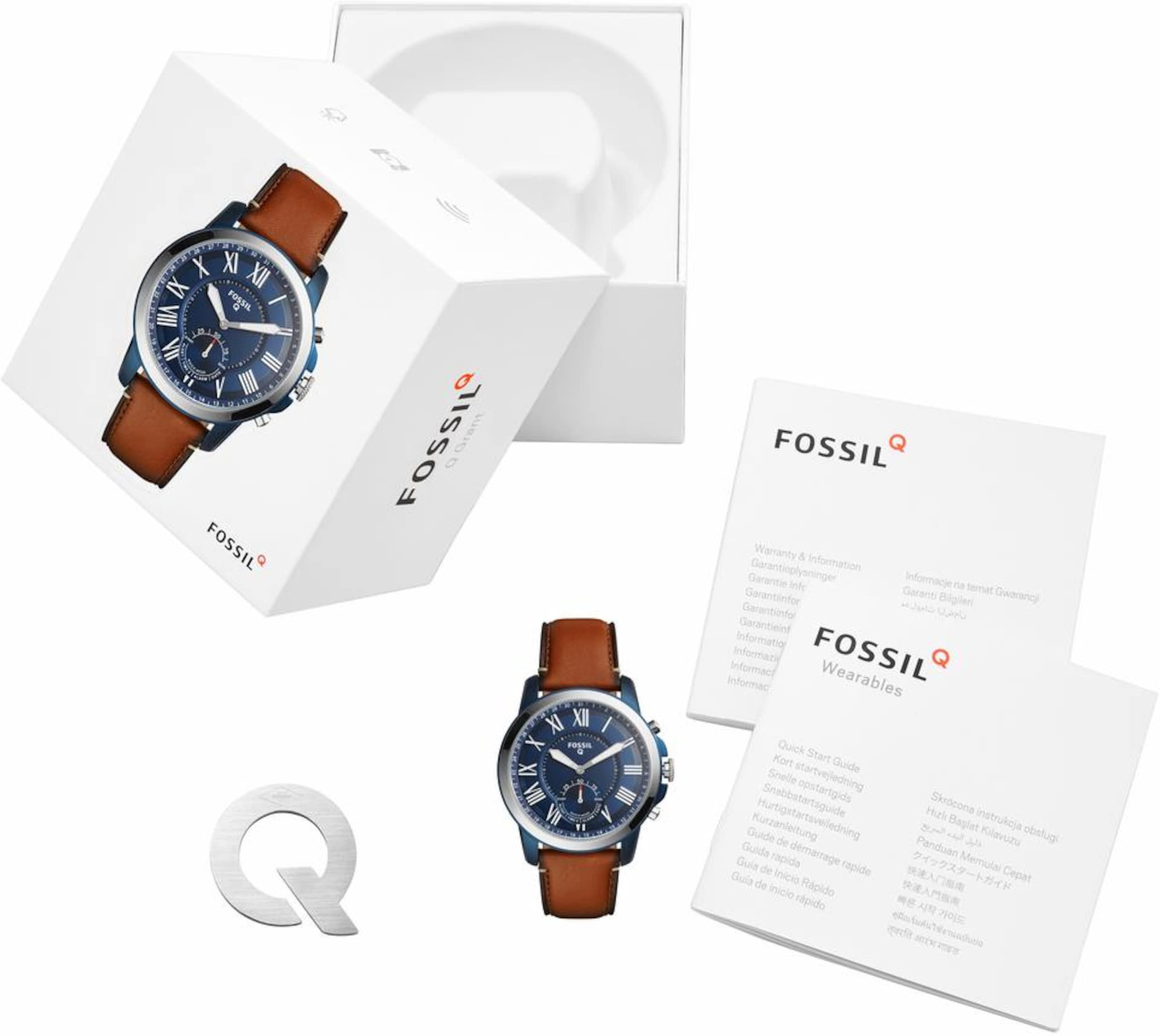 Fossil Q Q GRANT, FTW1147 Smartwatch (Android Wear)