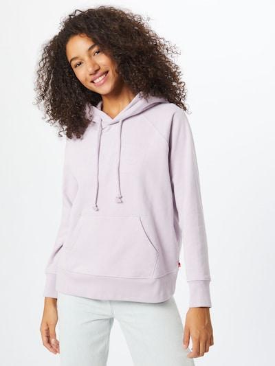 LEVI'S Sweatshirt in lila: Frontalansicht