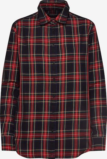 Bluză 'JAMELKO' Lauren Ralph Lauren pe roșu / negru, Vizualizare produs