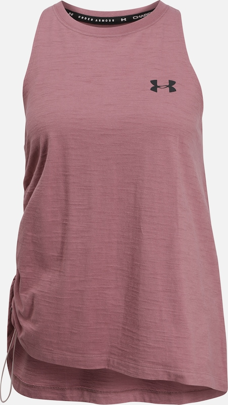 UNDER ARMOUR Sportshirt in pink / weiß, Produktansicht