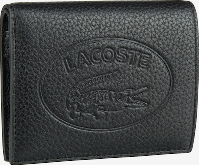 LACOSTE Portemonnee 'Croco Crew' in de kleur Zwart, Productweergave
