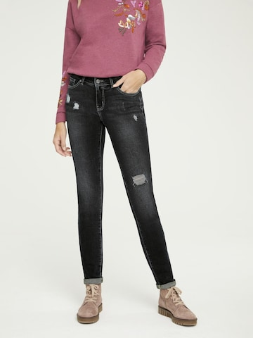 heine Jeans in Blauw