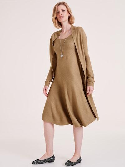 heine Strickkleid in camel, Modelansicht