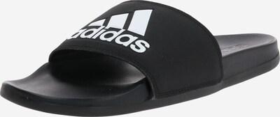 ADIDAS PERFORMANCE Plážová/koupací obuv 'Cloudfoam Plus Adilette' - černá / bílá, Produkt