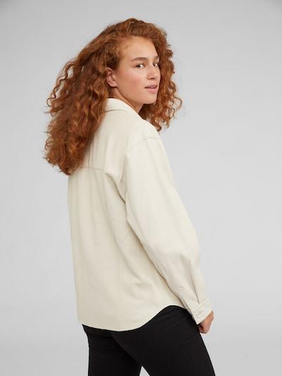 Marškinėliai 'Jemie' iš EDITED , spalva - smėlio: Vaizdas iš galinės pusės