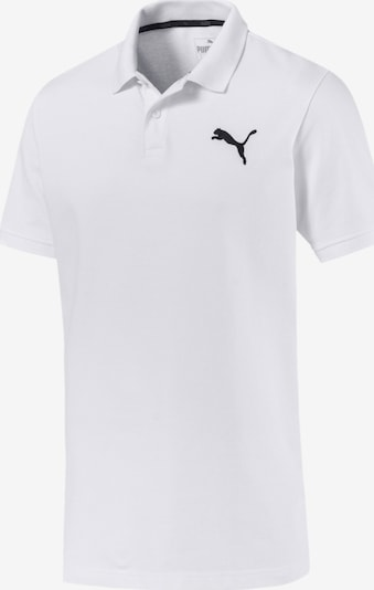 PUMA Polo 'Essentials' in weiß, Produktansicht
