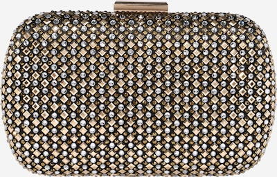 Forever New Clutch in gold / silbergrau, Produktansicht