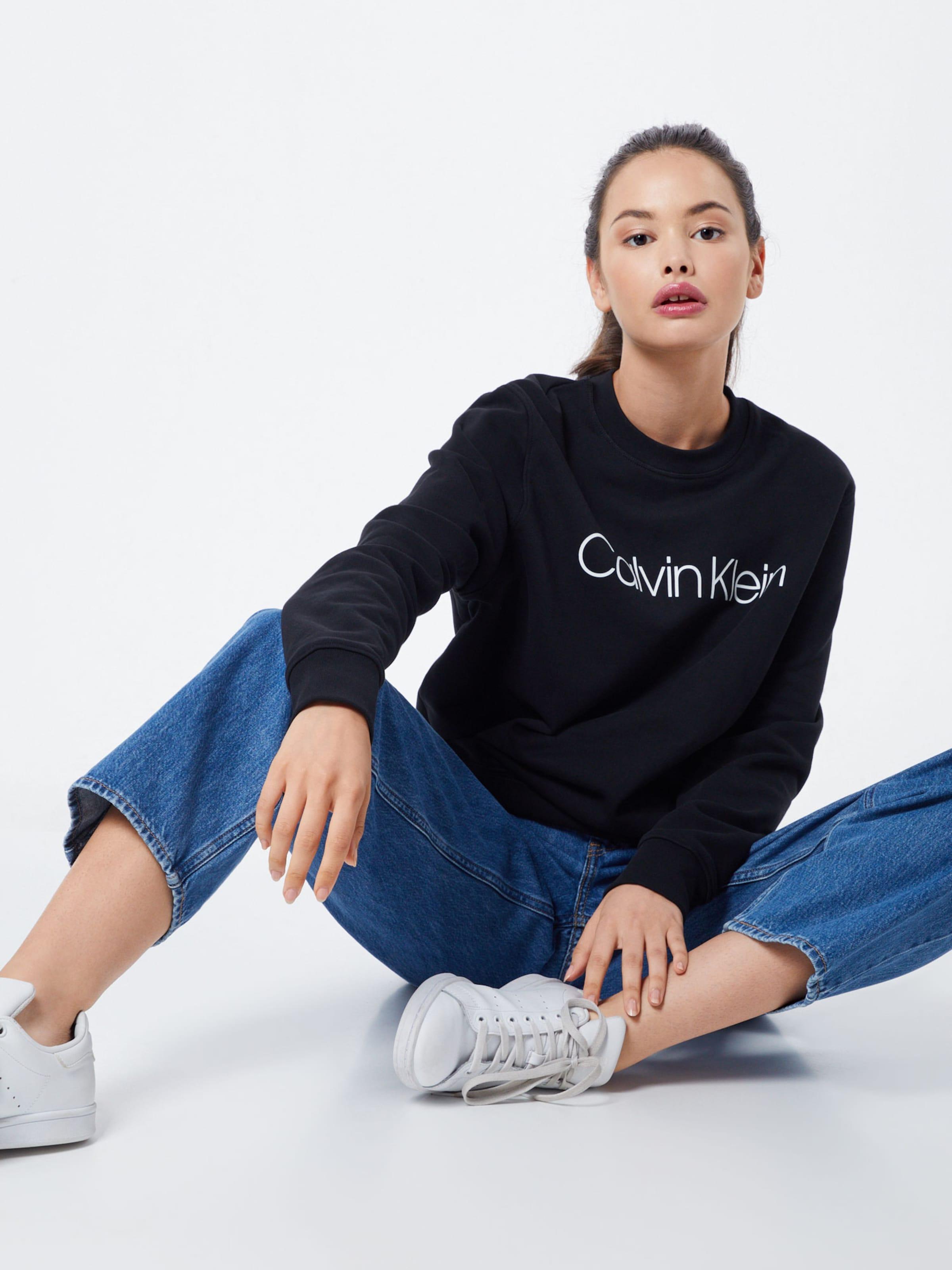 Schwarz Sweatshirt Calvin Sweatshirt Klein Klein Schwarz Calvin In Calvin In LqSMpUzVG