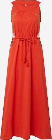 Blutsgeschwister Kleid in orangerot, Produktansicht