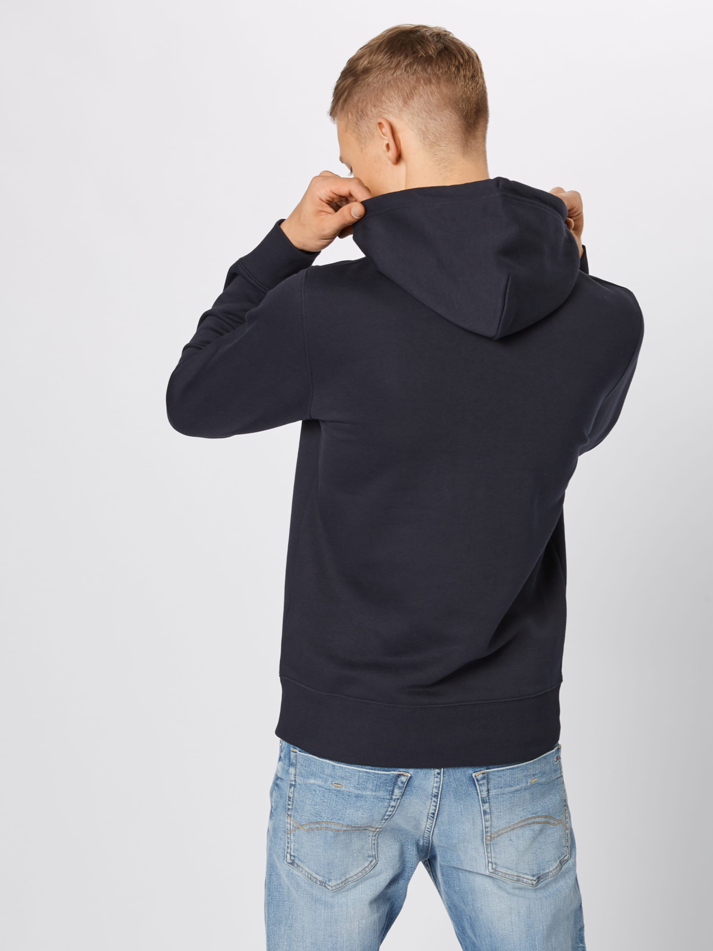 Noir En 'medium Gant Sweat Shield shirt Hoodie' BdCtsQhrxo