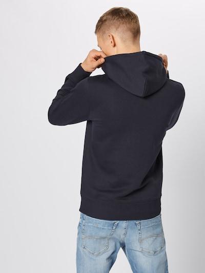 GANT Sweatshirt 'MEDIUM SHIELD HOODIE' in de kleur Zwart: Achteraanzicht